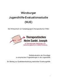 Abschlussbericht - Forschungsinitiative Stationäre Jugendhilfe