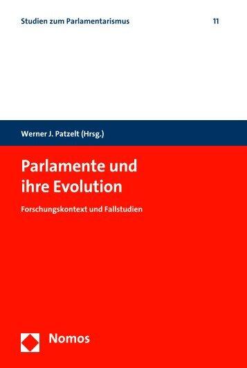 Parlamente und ihre Evolution - Zum Nomos-Shop