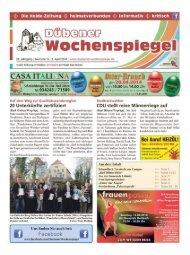 Dübener Wochenspiegel - Ausgabe 06 - 02-04_2014