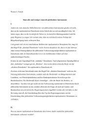 Eingangsreferat von Prof. Dr. Patzelt - Partner im Dialog
