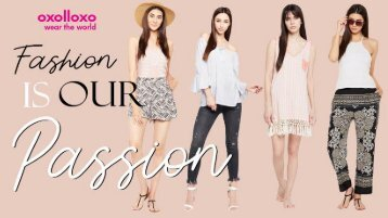 Upto 60% off on Women's Summer Dresses Online Shopping from Oxolloxo