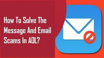 1-800-488-5392 | Solve AOL Message and Email Scams