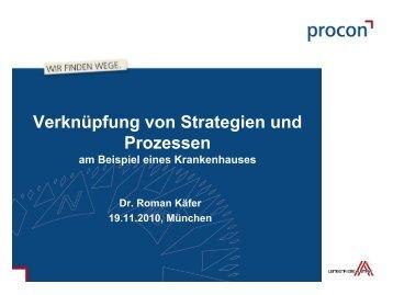 Verknüpfung von Strategien und Prozessen - Städtisches Klinikum ...