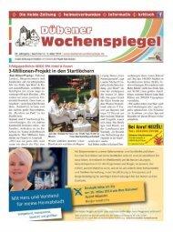 Dübener Wochenspiegel - Ausgabe 04 - 05-03_2014
