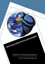 New ChalleNges with geotourism - Geopark Naturtejo