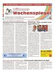 Dübener Wochenspiegel - Ausgabe 03 - 19-02_2014