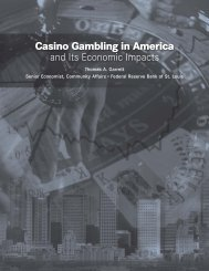 Casino Gambling in America