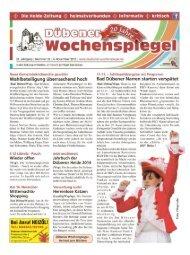 Dübener Wochenspiegel - Ausgabe 22 - 06-11_2013