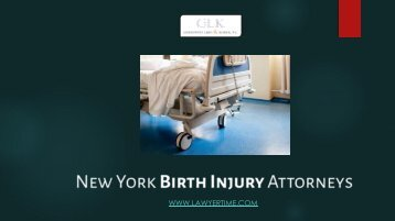 Top New York City Birth Injury Lawyers