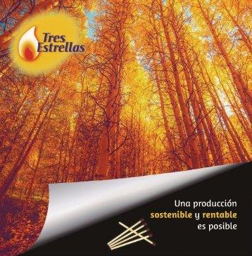 Tres Estrellas - Producción sostenible