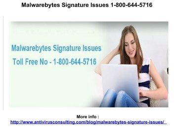 Malwarebytes Customer Service 1-800-644-5716