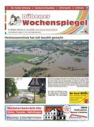Dübener Wochenspiegel - Ausgabe 12 - 19-06_2013