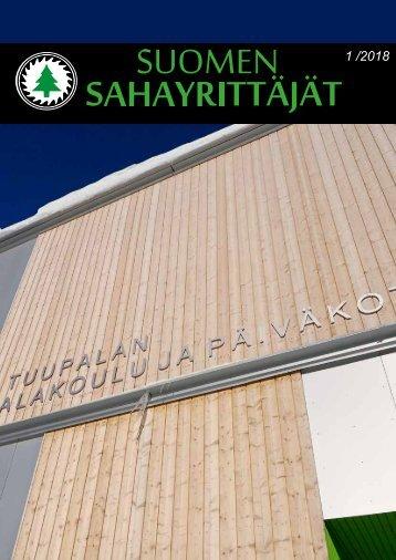 Suomen Sahayrittäjät 1/2018