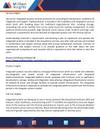 Integrated Systems Market Applications, Technology & Forecast Till 2020 - Page 2