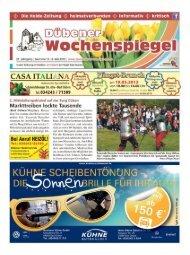 Dübener Wochenspiegel - Ausgabe 09 - 08-05_2013