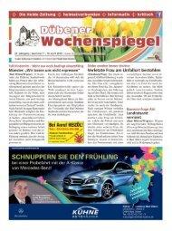 Dübener Wochenspiegel - Ausgabe 07 - 10-04_2013