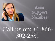 Asus Support Number