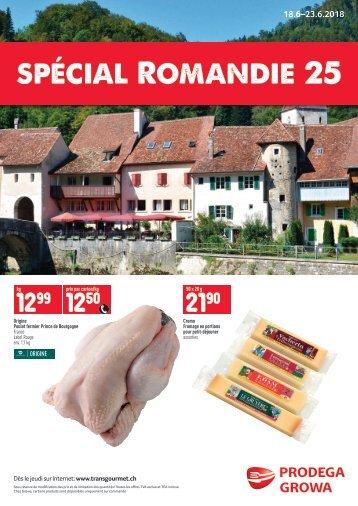 Spécial Romandie 25