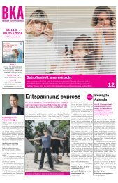 Berner Kulturagenda 2018 N° 23