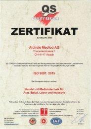ISO Zertifikat 9001 -2015.2