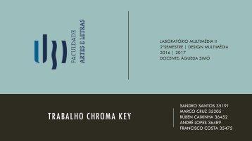 Memória Descritiva - Chroma Key - André,Marco,Sandro,Rúben