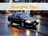 Get Fare Shanghai Taxi Services At Affordable Price