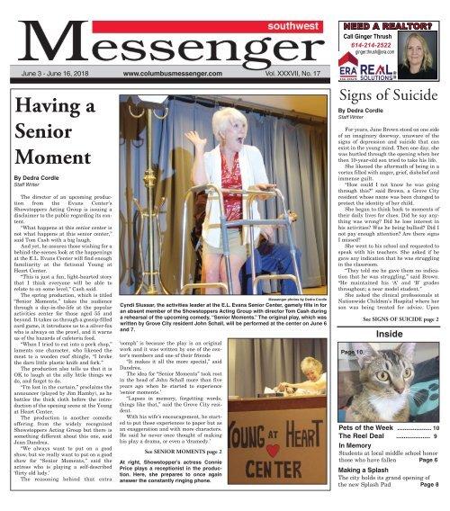 Southwest Messenger - June 3rd 2018