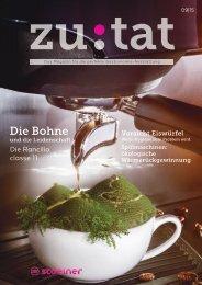 zutat 09/2015. Das Magazin für perfekte Gastronomie-Ausstattung