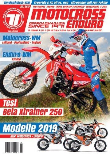 Motocross Enduro Ausgabe 07/2018