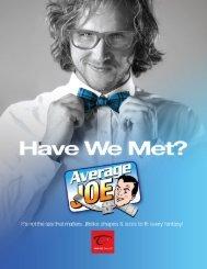 Average Joe_ Have We Met?_2018 Catalog