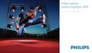 Philips Lighting product highlights 2009