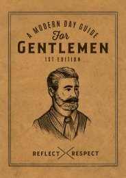 A Modern Day Guide for Gentlemen