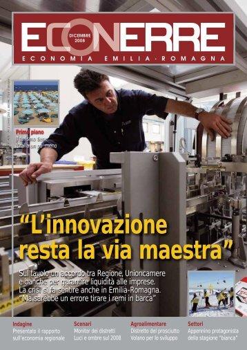 """""""L'innovazione resta la via maestra"""" - ER Imprese - Regione Emilia ..."""