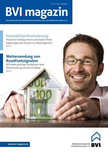 Immobilienfinanzierung - BVI Magazin