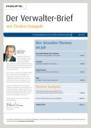 Berufung in WEG-Streitigkeiten - Haufe.de