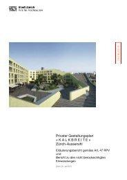 Erläuterungsbericht zum Gestaltungsplan (pdf, 1,8 MB)