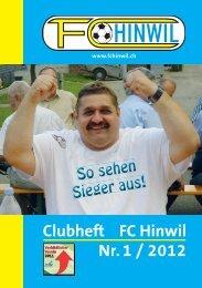 Clubheft FC Hinwil Nr. 1 / 2012