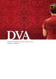 DVA Literatur | Sachbuch Vorschau Herbst 2012 - Random House