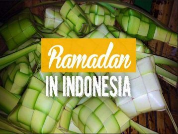 Ramadan In Indonesia