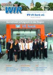 Gemeinsam erfolgreich in der Region - VR Bank eG Bergisch ...
