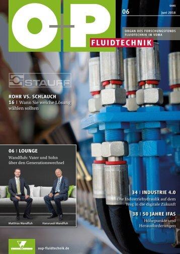O+P Fluidtechnik 6/2018