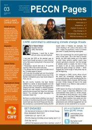 PECCN Pages - Care Climate Change