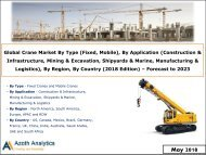 Sample - Global Crane Market Report