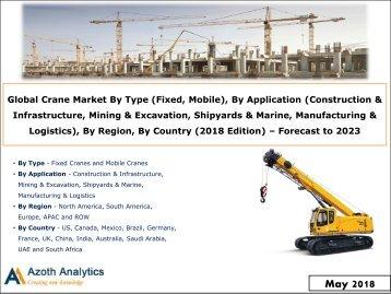 Sample - Global Crane Market Report