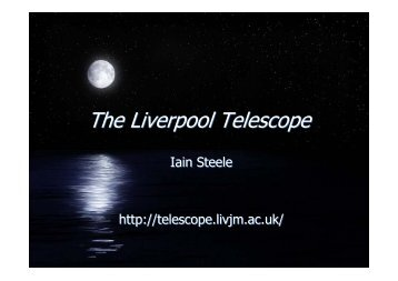 Robotic Telescopes: The Liverpool Telescope Experience