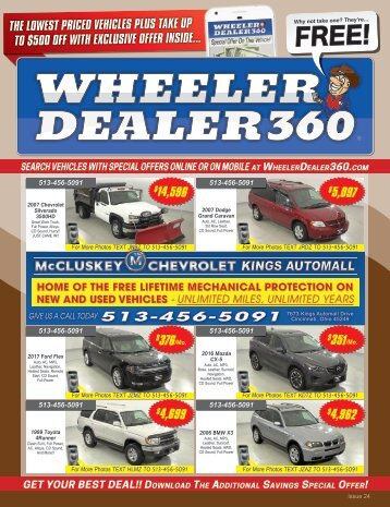 Wheeler Dealer 360 Issue 24, 2018