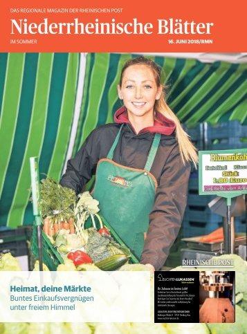 Niederrheinische Blätter  -13.06.2018-