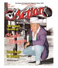 The new Claude Morgan a solid solo road act - Action Magazine