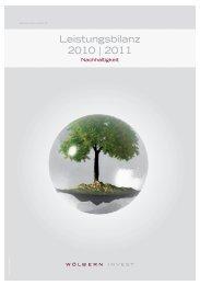 Leistungsbilanz 2010 | 2011 - Leistungsbilanzportal