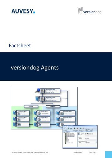 Factsheet - versiondog Upload und Compare Agents